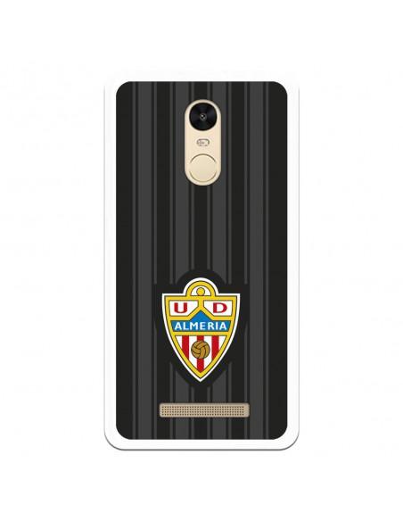 Carcasa Oficial UD Almería fondo negro para Xiaomi Redmi Note 3 Pro- La Casa de las Carcasas