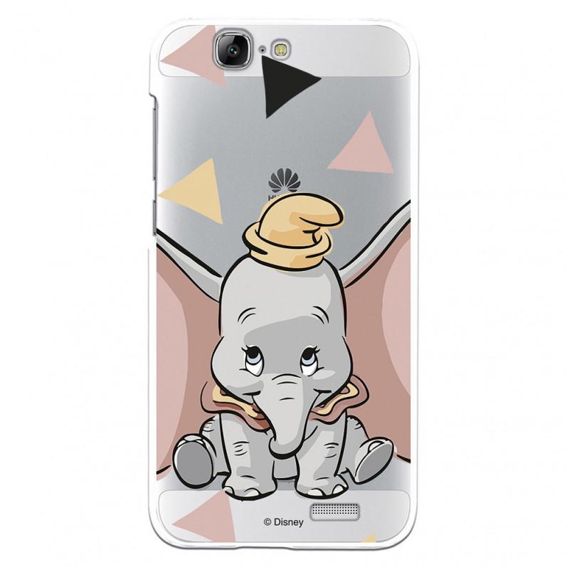 La Casa de Las Carcasas Carcasa Oficial Disney Dumbo Siluetas para Huawei P20 Lite