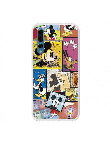 best sneakers afb10 21ed6 Carcasa Oficial Disney Mickey, Comic Huawei P20 Pro