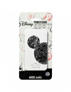 Power Bank Disney  Mickey Trazos - 4000 mAh