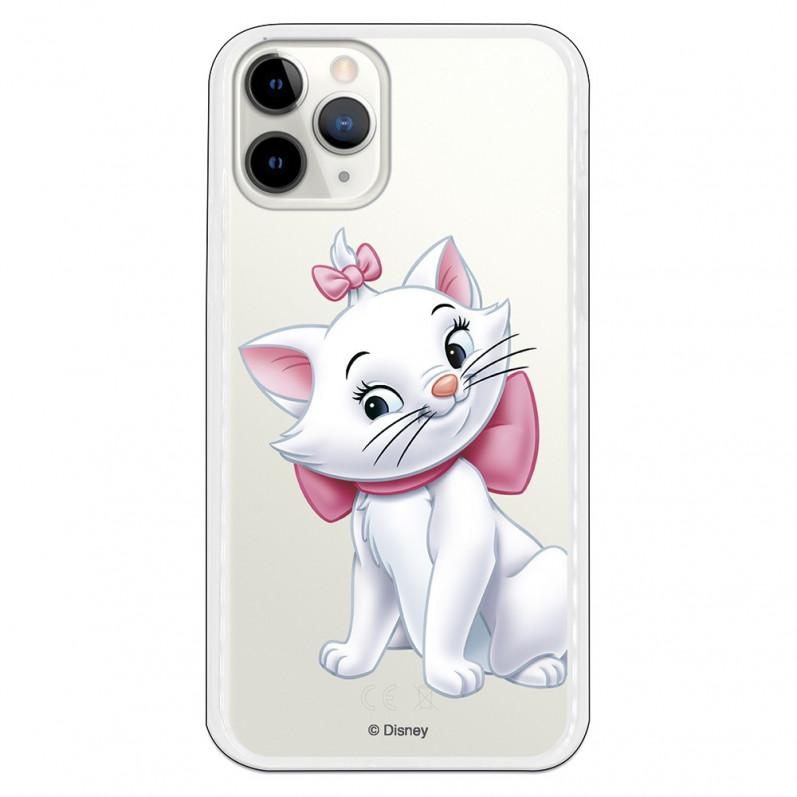Funda para iPhone 7 y iPhone 8 Oficial de Disney Marie Siluetas de