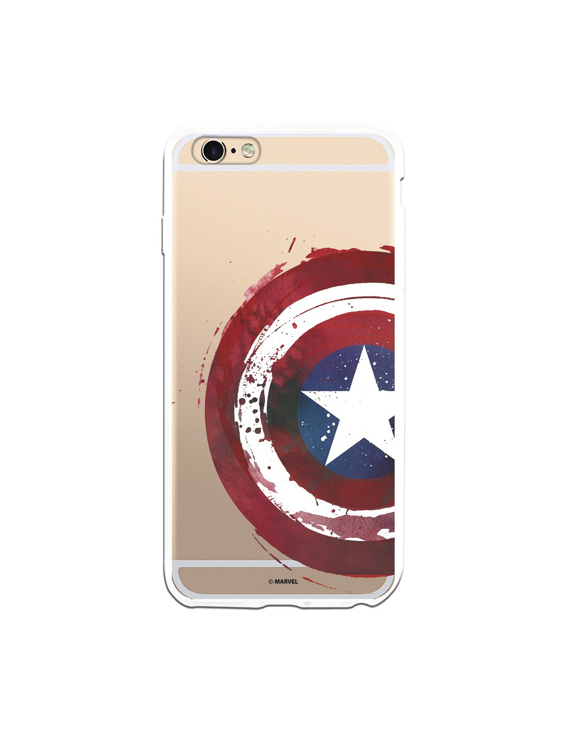 funda iphone 6 capitan america